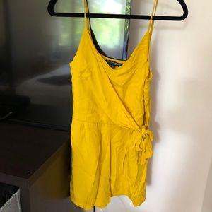 Yellow mustard jumpsuit